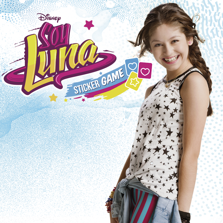 Soy Luna Sticker Game